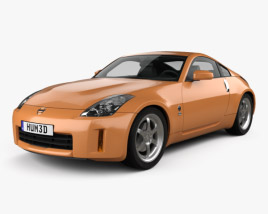 3D model of Nissan 350Z with HQ interior 2007