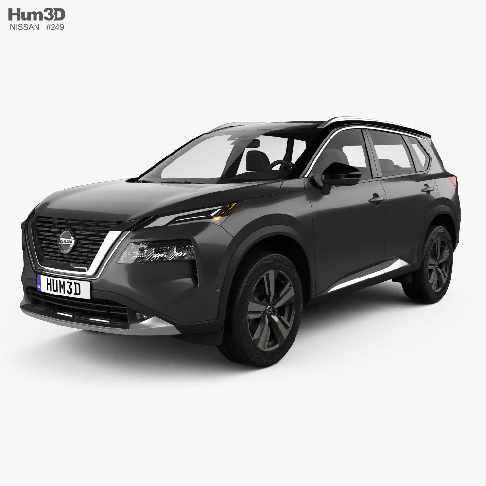 Nissan Rogue Platinum 2021 3D model