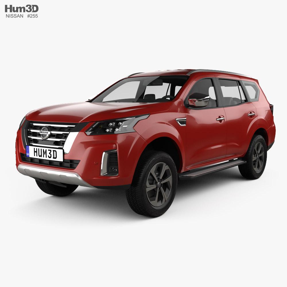 Nissan XTerra Platinum 2020 3D model