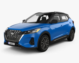 Nissan Kicks SR US-spec 2021 3D model