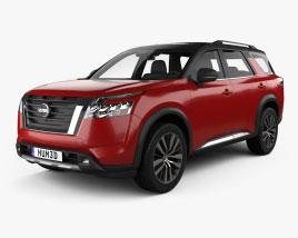Nissan Pathfinder Platinum 2022 3D model