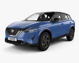 Nissan Qashqai 2021 3D model