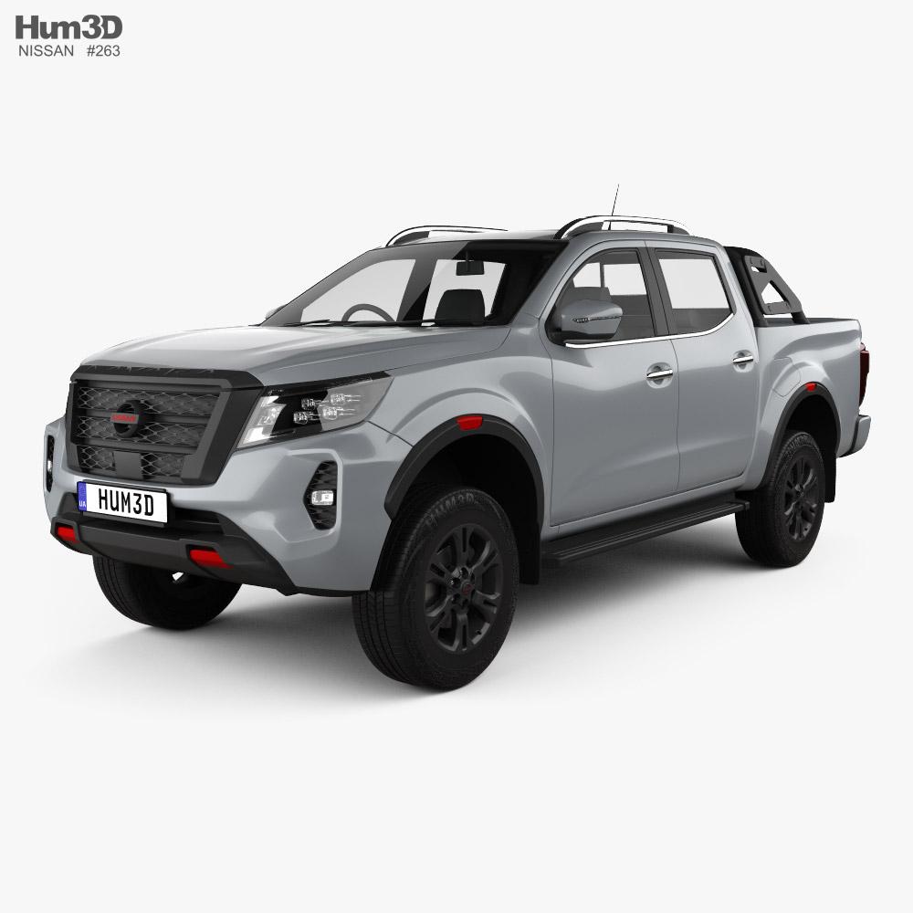 Nissan Navara Double Cab PRO 4X 2020 3D model