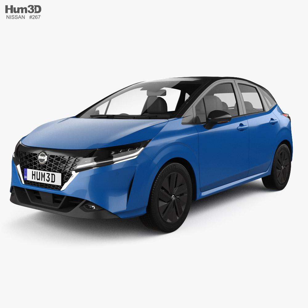 Nissan Note e-Power 2020 3D model