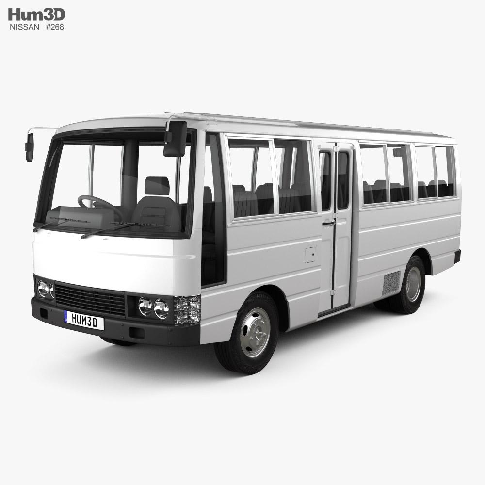 Nissan Civilian Bus 1984 3D model