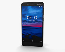 Nokia 7 Gloss Black 3D model