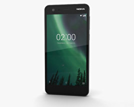 Nokia 2 Pewter Black 3D model