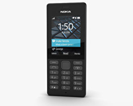3D model of Nokia 150 Black