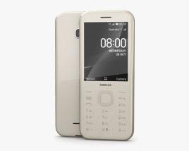 Nokia 8000 4G Cintrine Gold 3D model