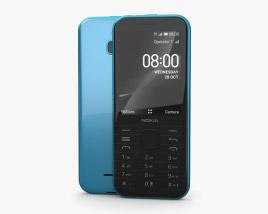Nokia 8000 4G Topaz Blue 3D model