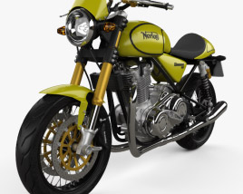3D model of Norton 961 Commando 2009