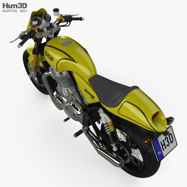 Norton 961 Commando 2009 3D model