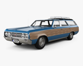 3D model of Oldsmobile Vista Cruiser 1964