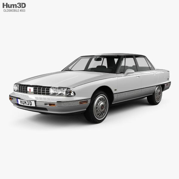 Oldsmobile 98 1991 Modèle 3D