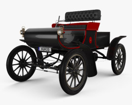 3D model of Oldsmobile Model R Curved Dash Runabout 1901