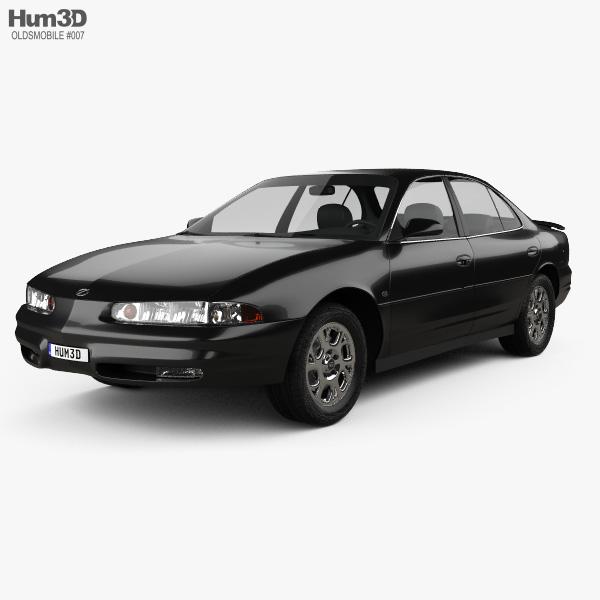 Oldsmobile Intrigue 1998 Modèle 3D