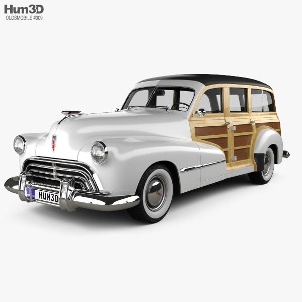 Oldsmobile Special 66/68 station wagon 1947 3D model
