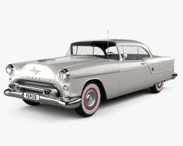 3D model of Oldsmobile 88 Super Holiday coupe 1954