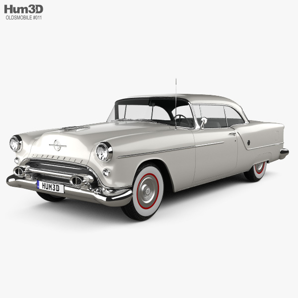 Oldsmobile 88 Super Holiday coupe 1954 Modèle 3D