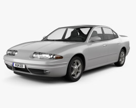 3D model of Oldsmobile Alero 1998