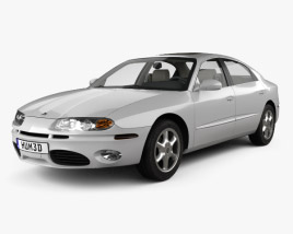 3D model of Oldsmobile Aurora with HQ interior 1999
