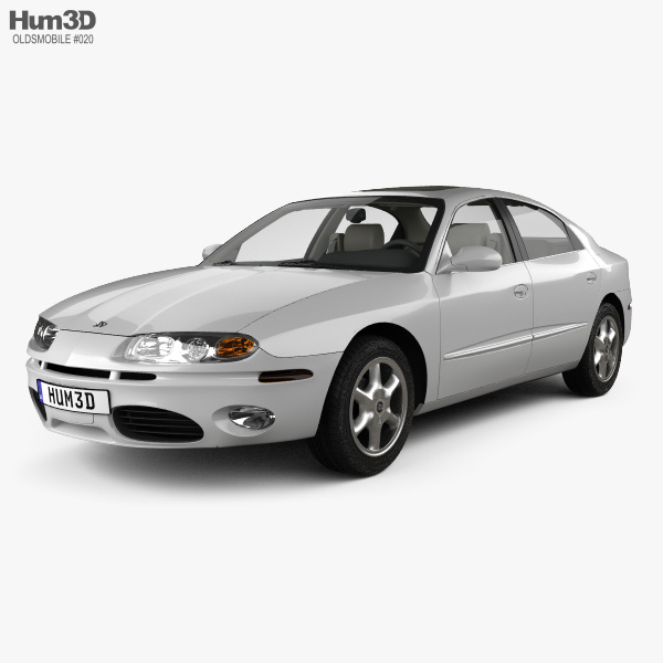 Oldsmobile Aurora avec Intérieur 1999 Modèle 3D
