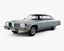 3D model of Oldsmobile 98 Regency 1976