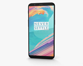 3D model of OnePlus 5T Midnight Black