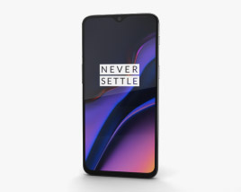 3D model of OnePlus 6T Midnight Black