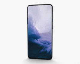 3D model of OnePlus 7 Pro Nebula Blue