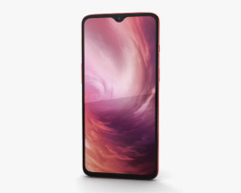 3D model of OnePlus 7 Red