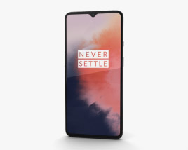 3D model of OnePlus 7T Frosted Silver