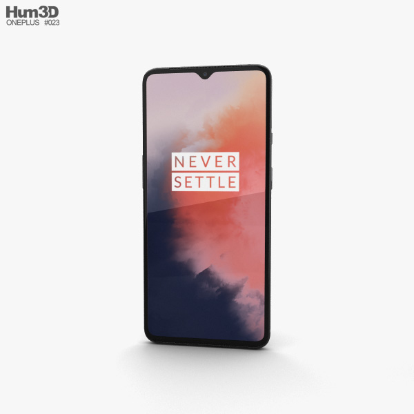 OnePlus 7T Frosted Silver 3D model