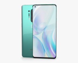 OnePlus 8 Pro Glacial Green 3D model