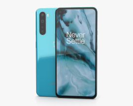 OnePlus Nord Blue Marble 3D model