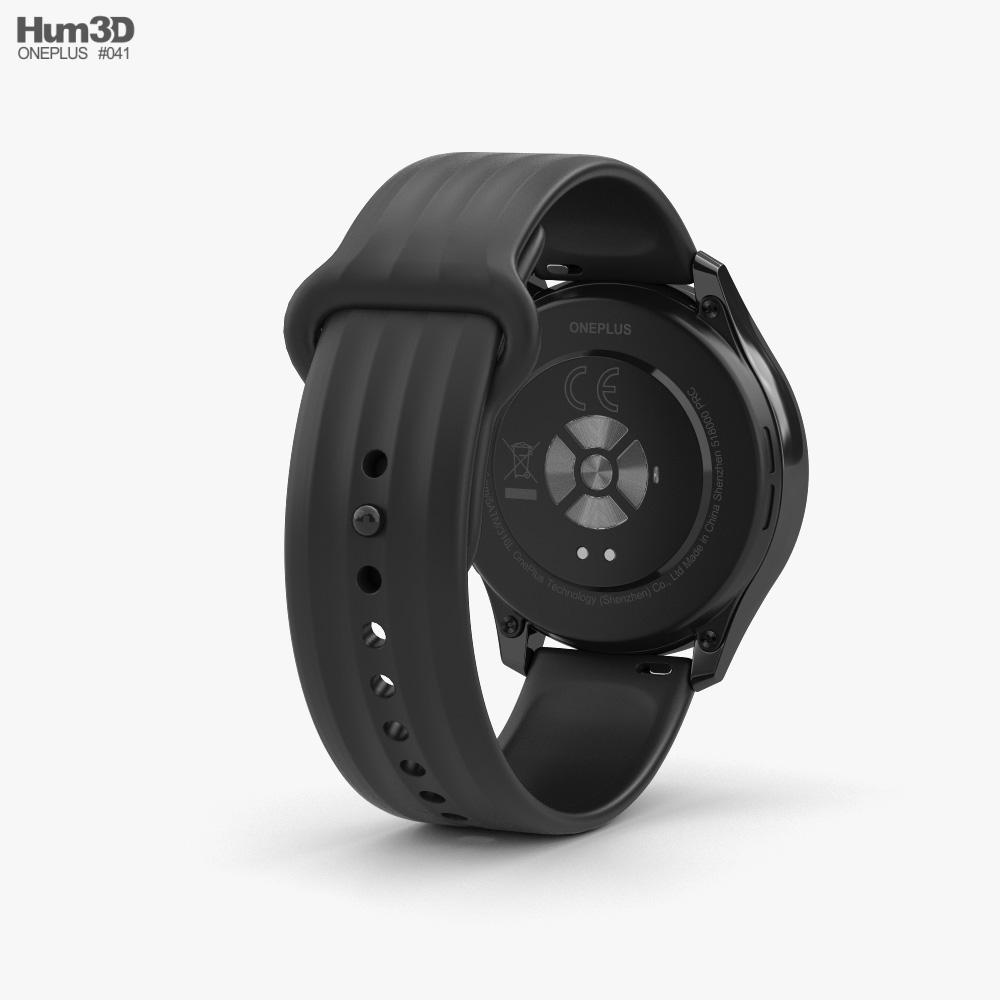 OnePlus Watch Midnight Black 3d model