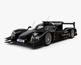 3D model of Onroak Automotive Ligier JS P2 2014