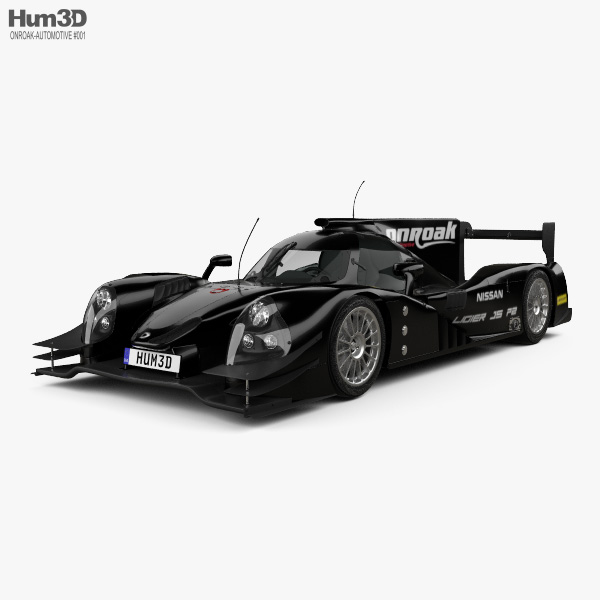 Onroak Automotive Ligier JS P2 2014 3D model