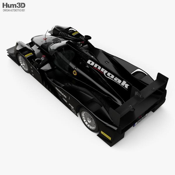 Onroak Automotive Ligier JS P2 2014 3D model