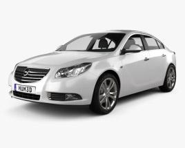 Opel Insignia Sedan 2009 3D model