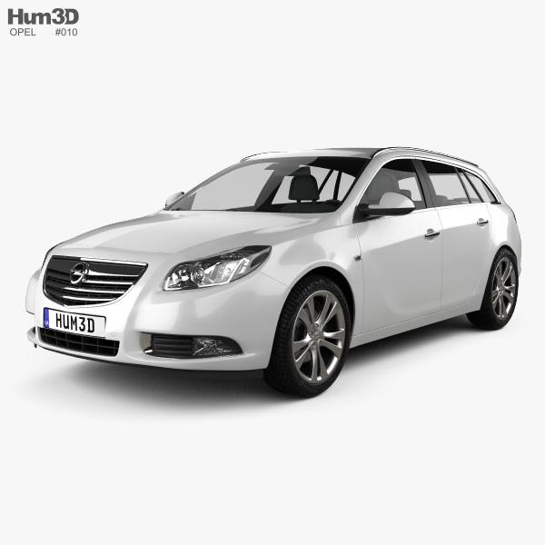 Opel Insignia Sports Tourer 2009 3D model