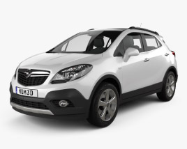 3D model of Opel Mokka 2013