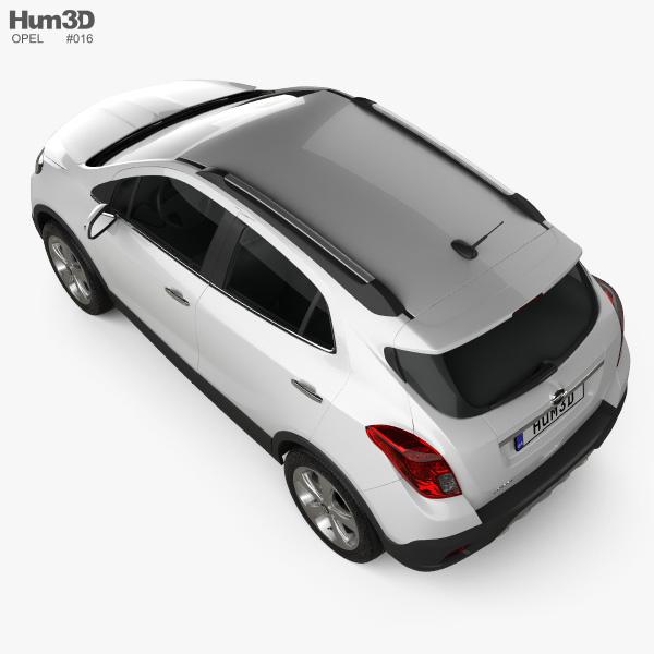 Opel Mokka 2013 3D model