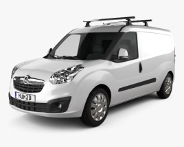 3D model of Opel Combo D Panel Van L2H1 2012