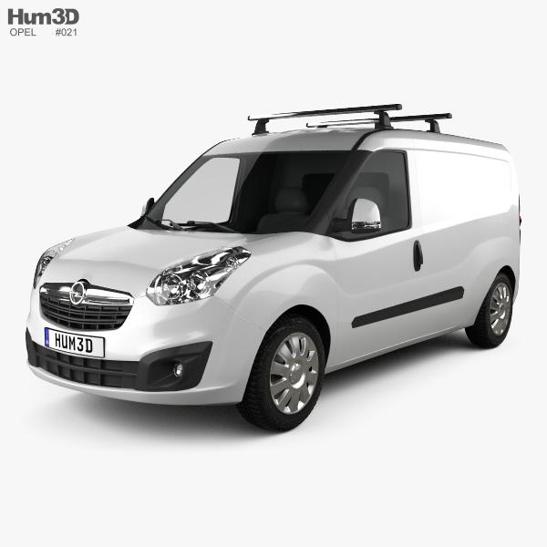 Opel Combo D Panel Van L2H1 2012 3D model