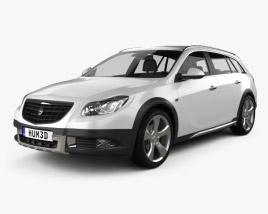 Opel Insignia Cross Four 2013 3D model