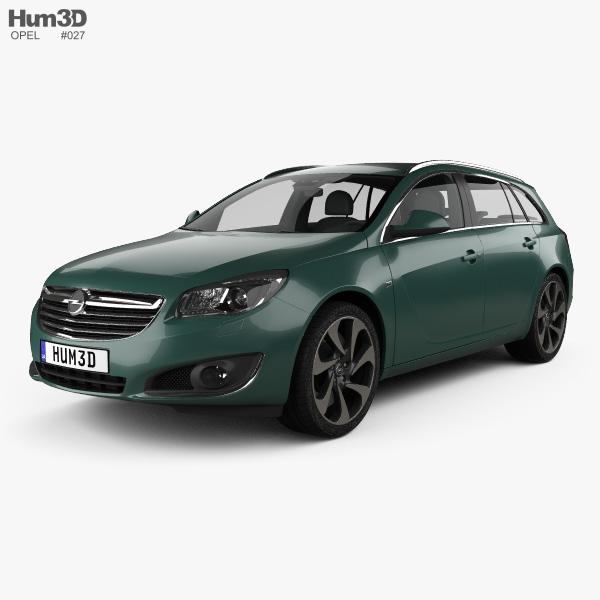 Opel Insignia Sports Tourer 2013 3D model
