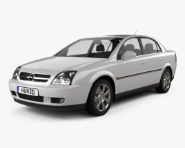 3D model of Opel Vectra sedan 2002