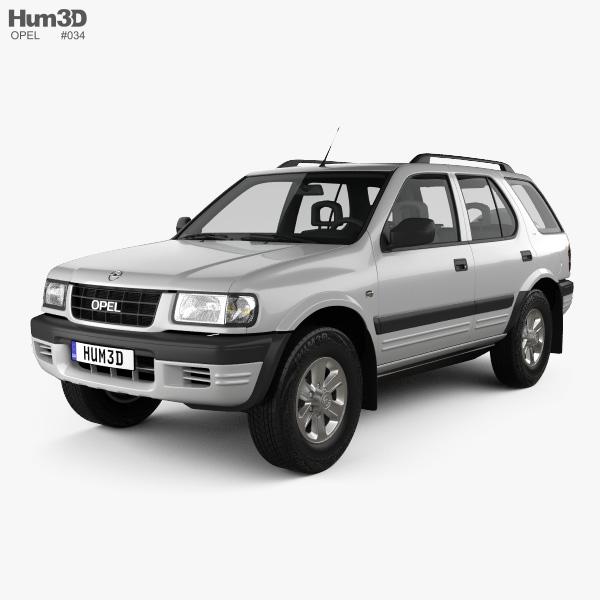 Opel Frontera (B) 1998 3D model