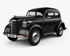 3D model of Opel Olympia (OL38) 1938